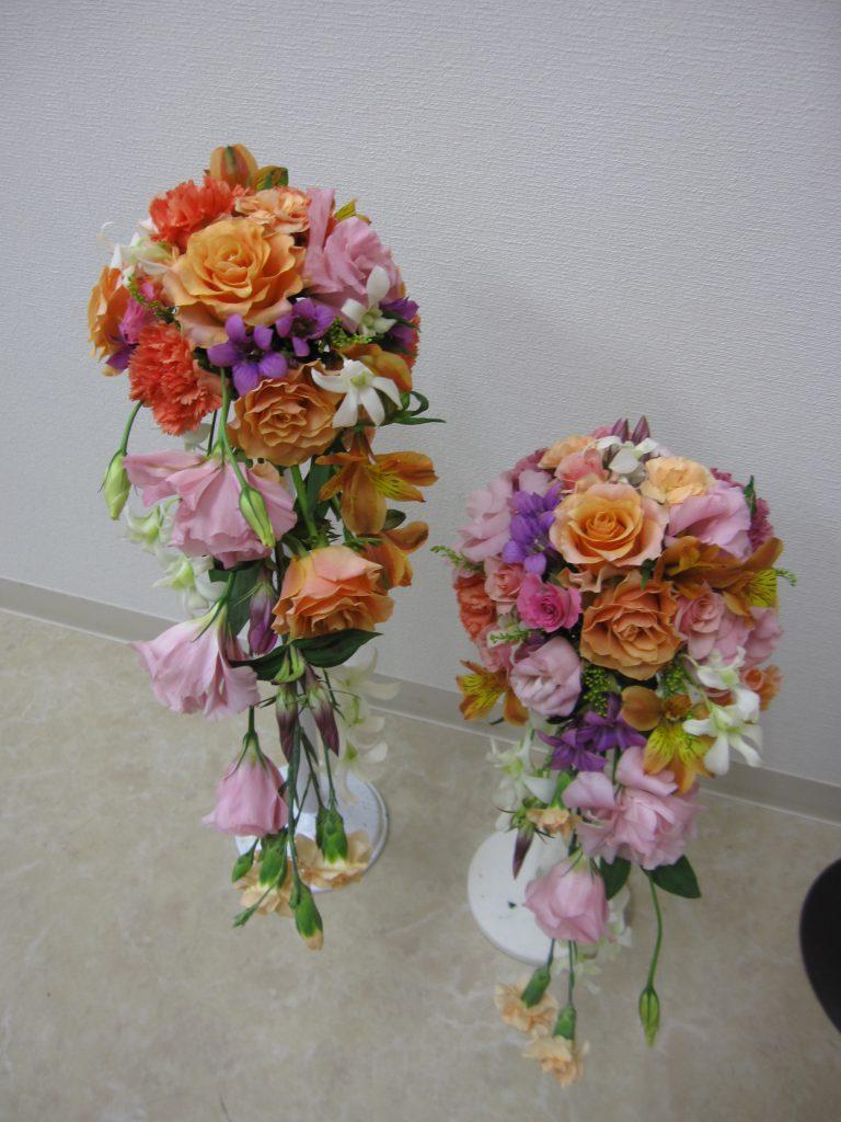 花のプロが教えるレカンフラワーとブーケレッスン