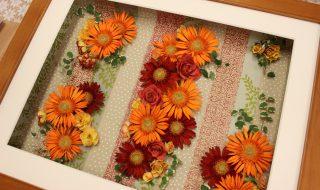 レカンフラワー作品に使用する花選びのポイント