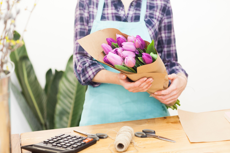 花屋の仕事